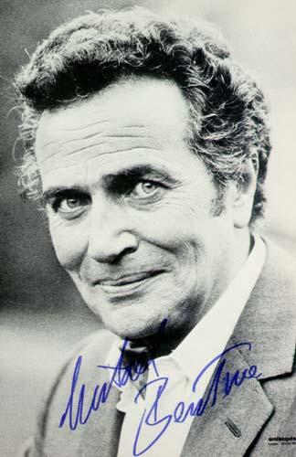 Signed photograph of Michael Bentine