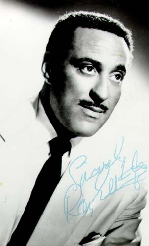Signed photograph of Ray Ellington