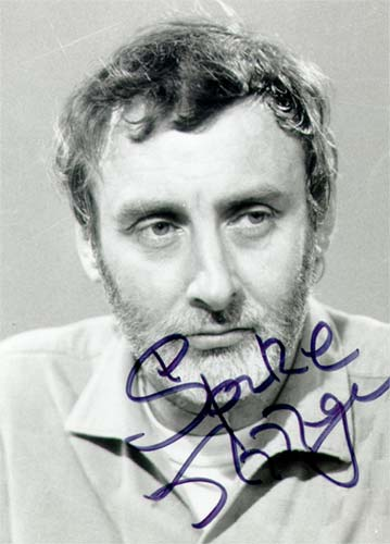 Signed photograph of Spike Milligan