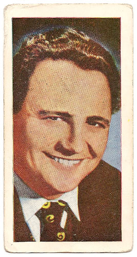 Harry Secombe - Bubble Gum Card (Front)