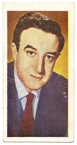 Peter Sellers - Bubble Gum Card (Front)