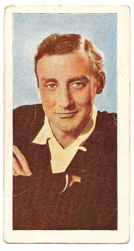 Spike Milligan - Bubble Gum Card (Front)